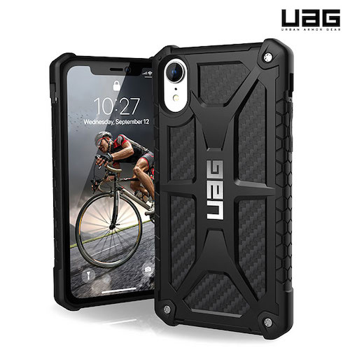 [UAG] iPhone XR Monarch Case - Carbon Fiber