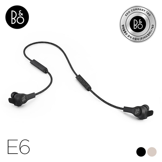 [B&O] Beoplay E6 - Black