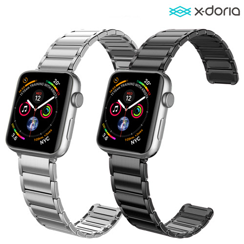 [X-Doria] Classic Metal Band for Apple Watch 38/40mm