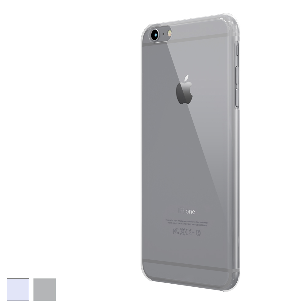 [COLORANT] C0 Hard Case for iPhone 6/6s Plus - Clear Black