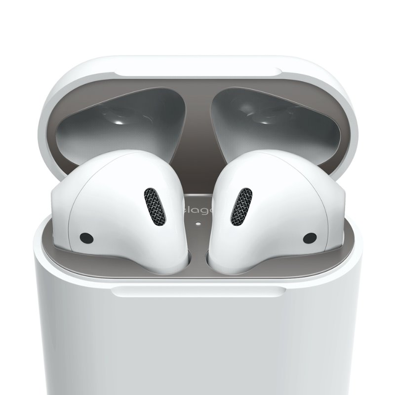 [Elago] AirPods Dust Guard - Space Gray