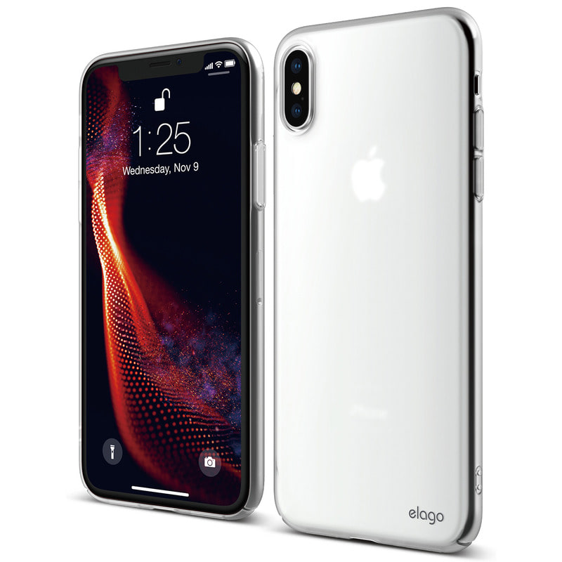 [Elago] Slim Fit Case for iPhone XS Max - Soft Clear