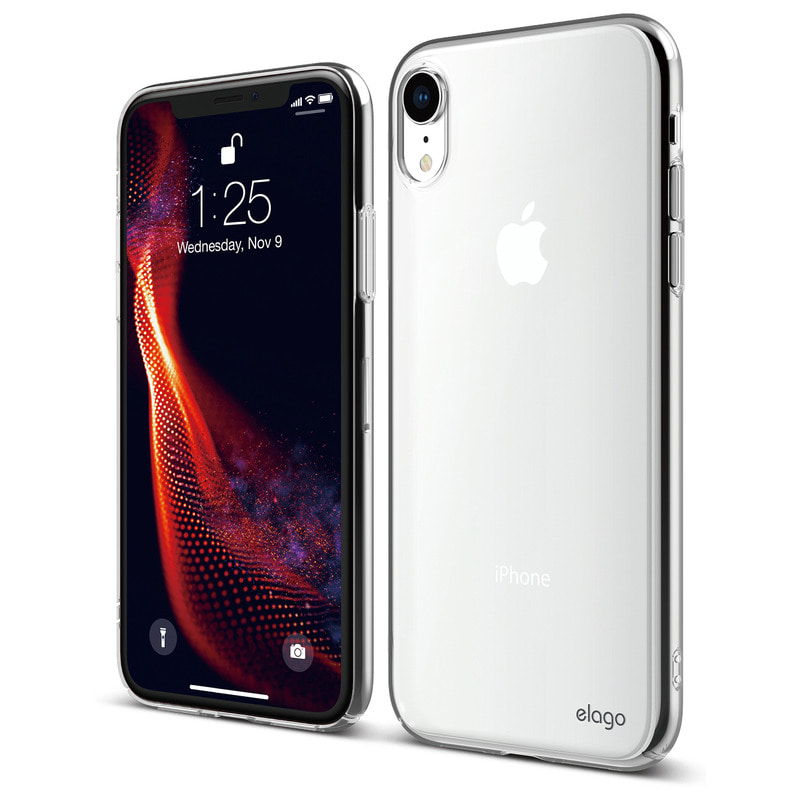 [Elago] Slim Fit Case for iPhone XR - Clear