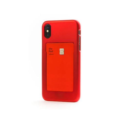 [Frame By] Frame Case for iPhone XS/X - Red