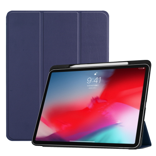 [Fozio] Relive Apple Pencil Holder Case for iPad Pro 12.9(3세대) - Navy