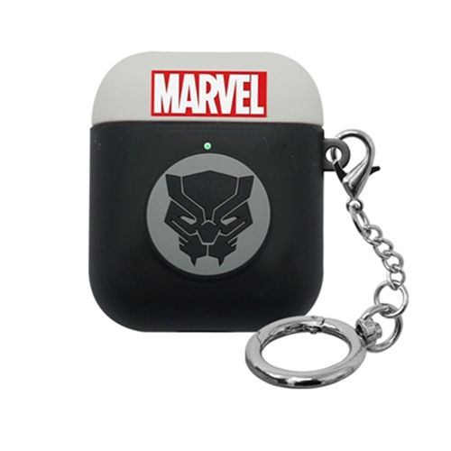 [MARVEL] AirPods Silicon Case - Black Panther