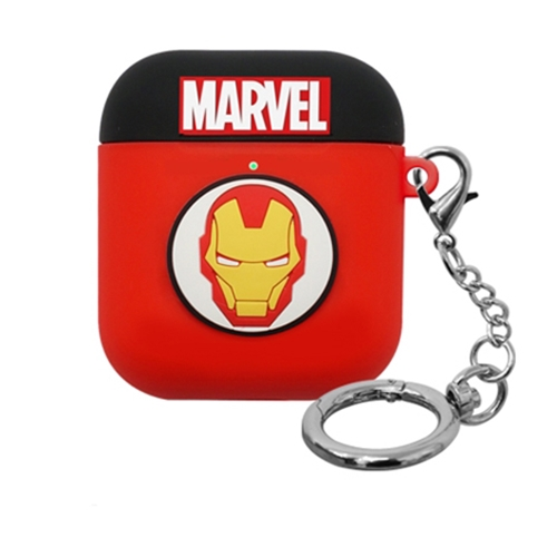 [MARVEL] AirPods Silicon Case - Iron Man