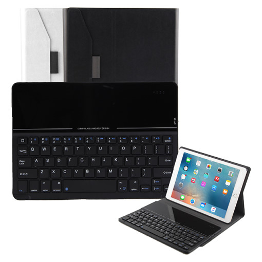 [iMate] Bluetooth Keyboard Case for iPad 9.7(5/6세대 호환) - White