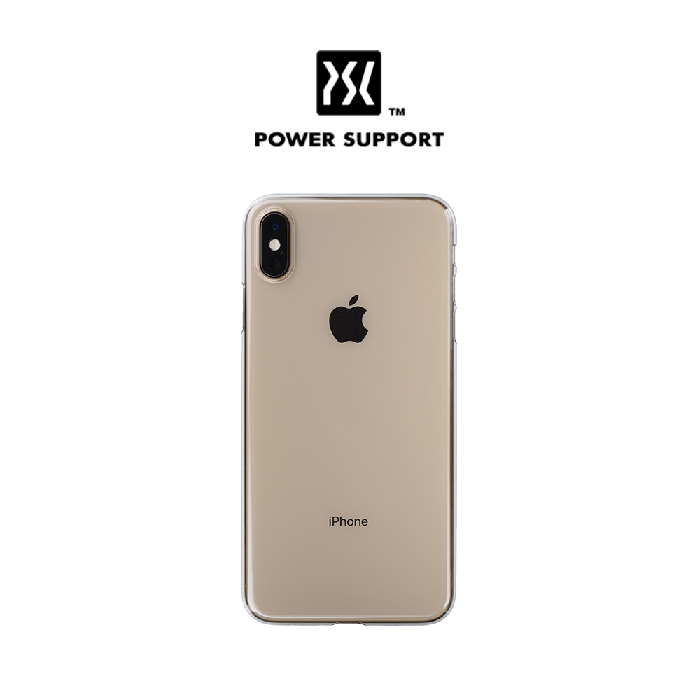 [Power Support] Air Jacket for iPhone XS - Clear