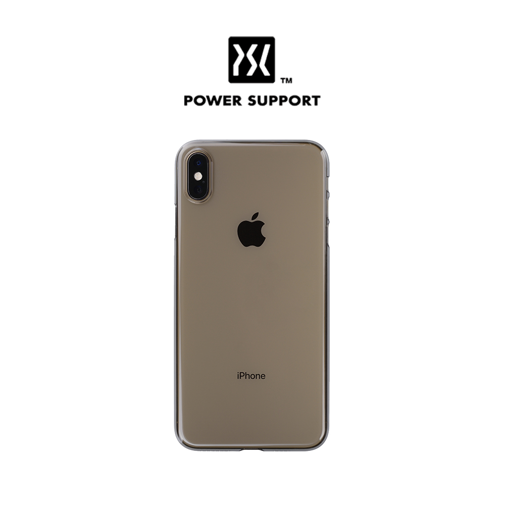 [Power Support] Air Jacket for iPhone XS - Clear Black