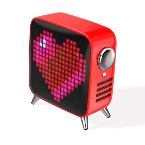 [DIVOOM] Tivoo Max Bluetooth Speaker - Red