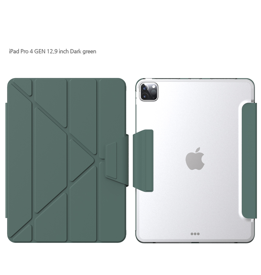 [TYPEONE] Y-Cover TAB iPad Pro 12.9 4세대 다크그린