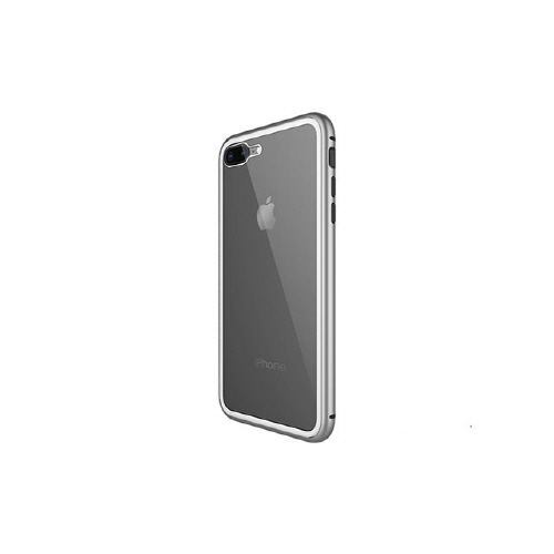 [WK] Magnetic Galss Case for iPhone XS/X - Silver