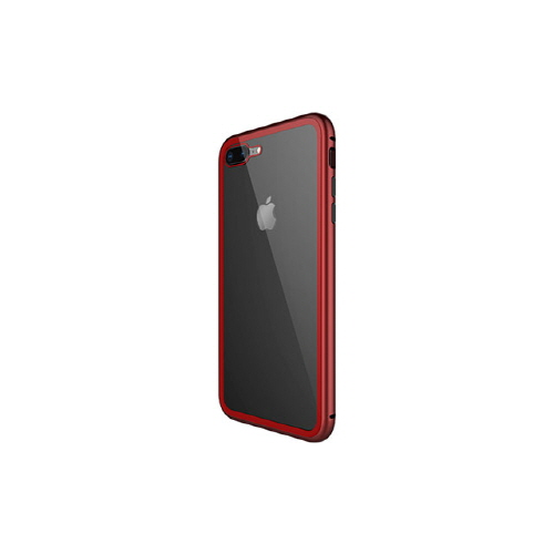 [WK] Magnetic Galss Case for iPhone XS Max - Red