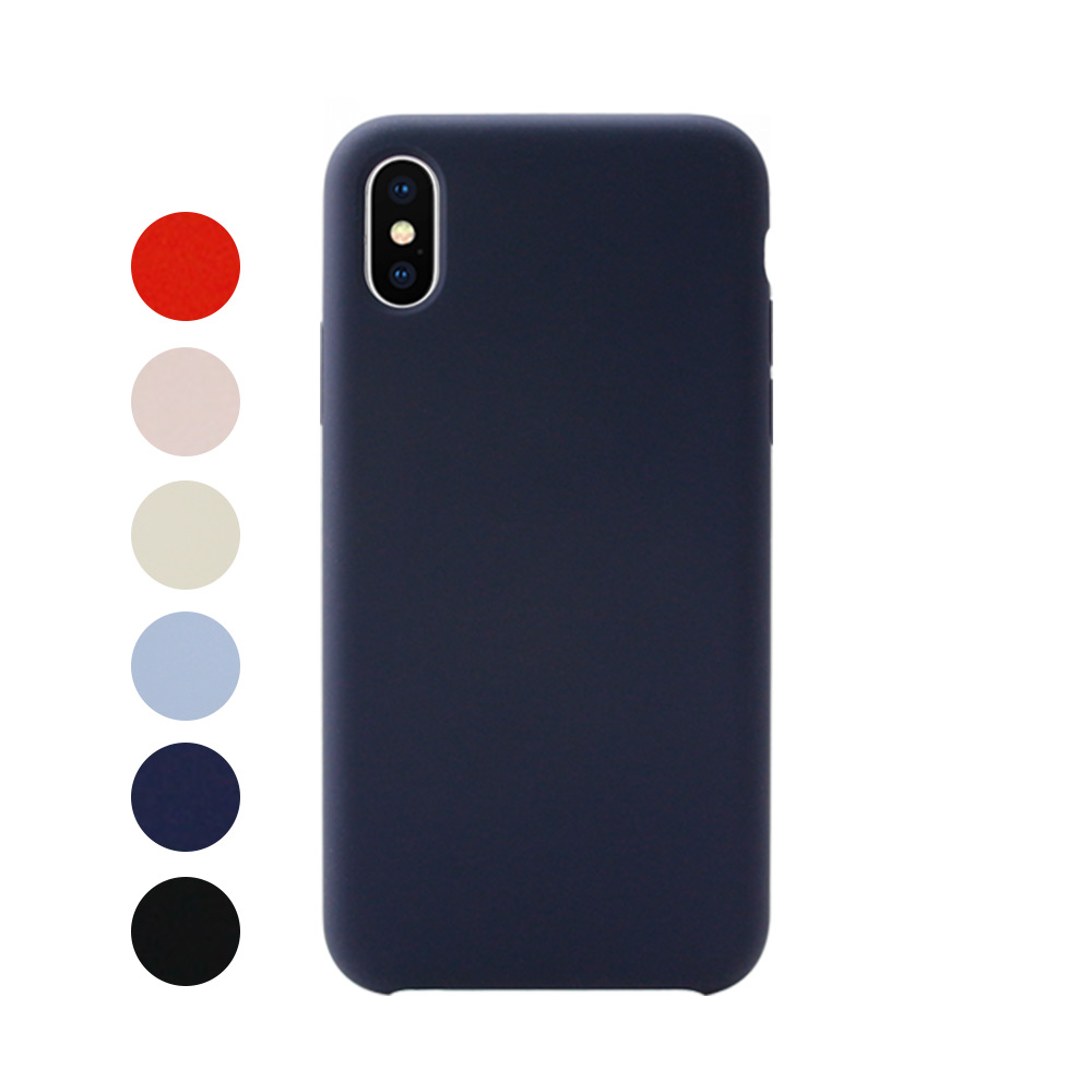 [IOGRAM] Silky Color Case for iPhone XS Max