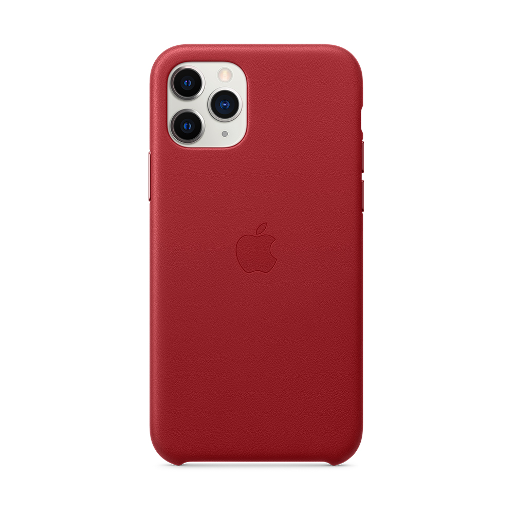 iPhone 11 Pro 가죽 케이스 - (PRODUCT)RED