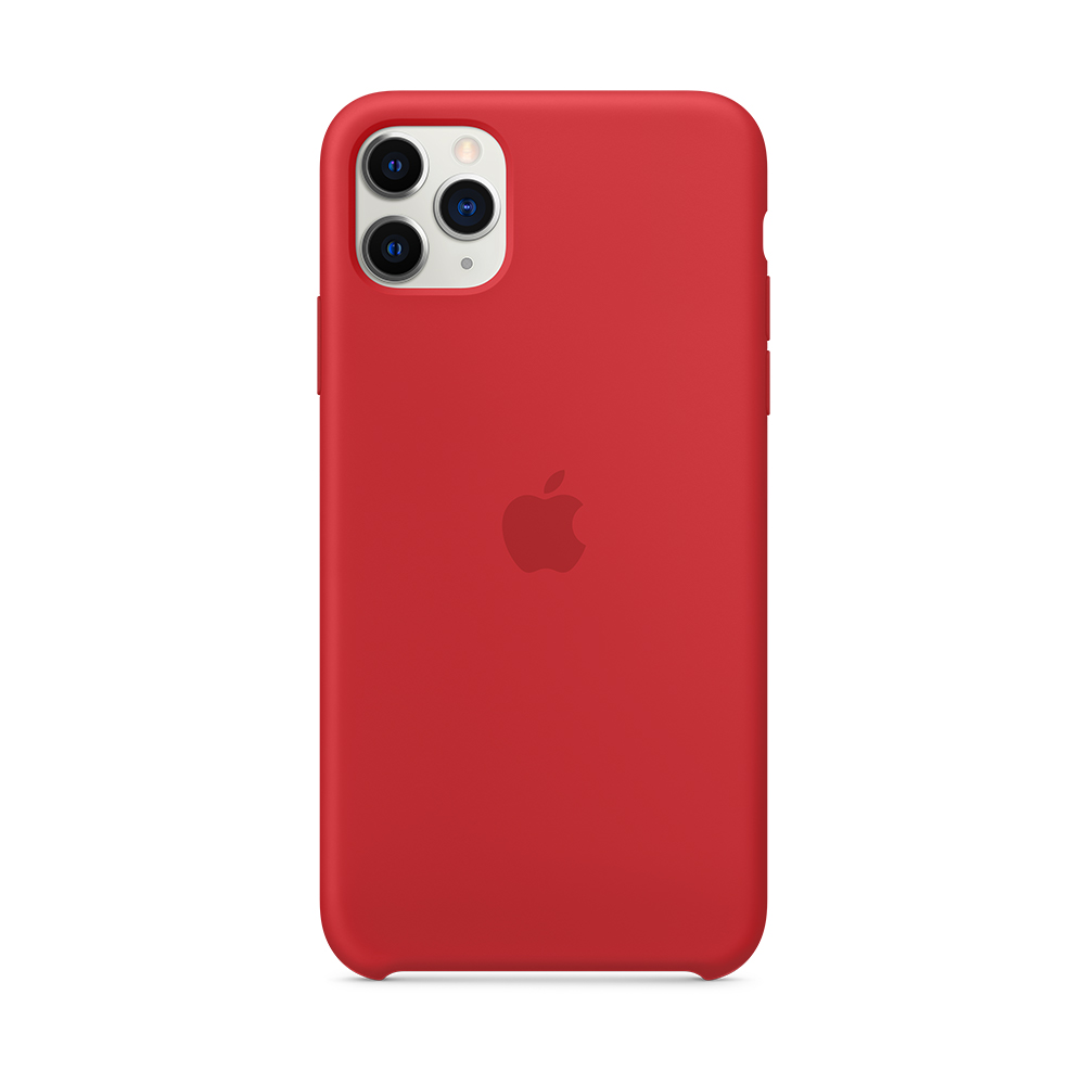iPhone 11 Pro Max 실리콘 케이스 - (PRODUCT)RED