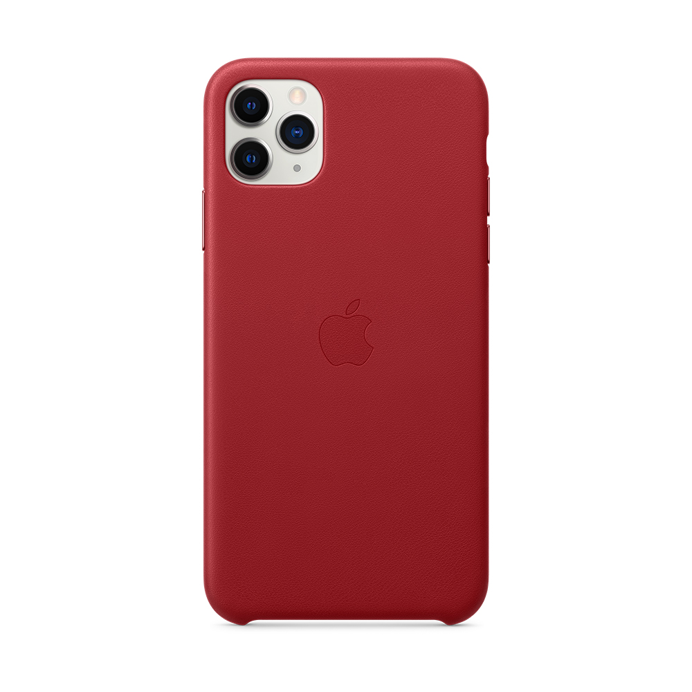 iPhone 11 Pro Max 가죽 케이스 - (PRODUCT)RED